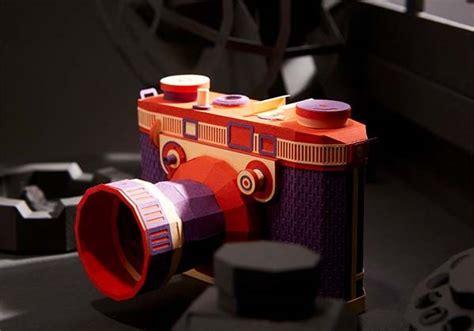 awesome vintage camera papercrafts  lee ji hee gadgetsin