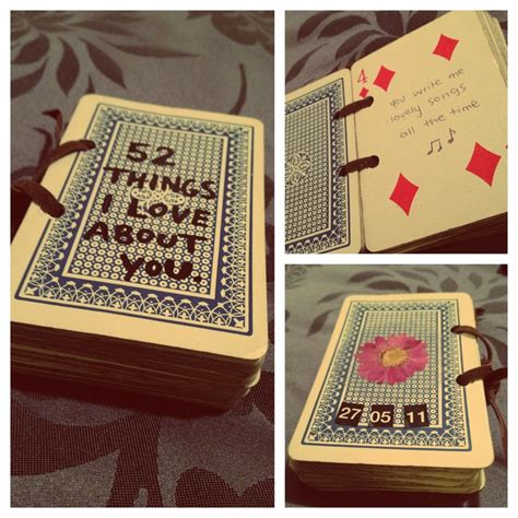 Own Take On The  Things I Love About You Card  Ee  Gift Ee