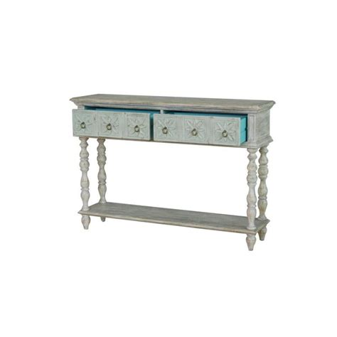 Furniture Buy Qing Dao Ivory White Small Console Table