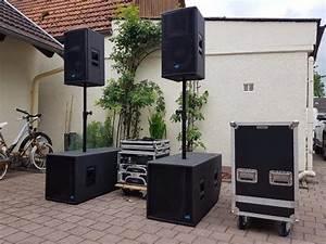 B Und W Boxen : pa anlage 3200 w peak 2x 18 39 sub 2x 15 39 tops dj party boxen in b hl pa licht boxen ~ Orissabook.com Haus und Dekorationen