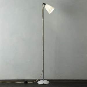 Original btc hector pleat floor lamp at john lewis for John lewis floor lamp reading