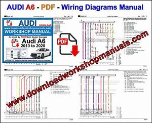 Audi A6 2010 To 2020 Workshop Repair Manual Pdf