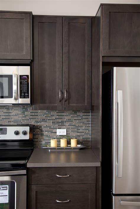 grey backsplash  home decoration world class