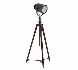 Ul listed floor lamp ul listed floor light pottery barn for Photographer s tripod floor lamp bronze finish