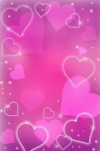 Pink Hearts Wallpaper   Heart wallpaper, Love wallpaper ...