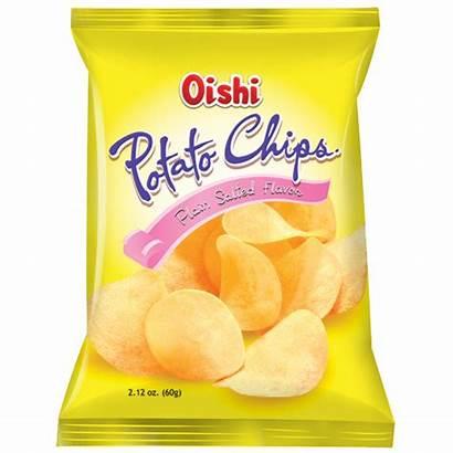 Chips Potato Wine Oishi Plain Crisps Salted