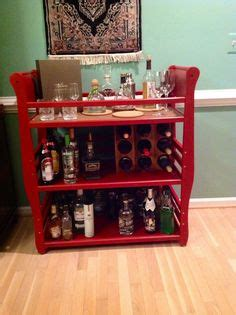 diy table makeover changing table upcycled   bar cart