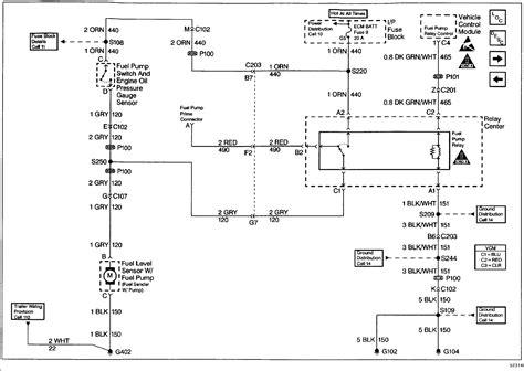 chevy blazer  power   fuel pump