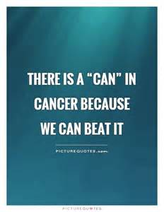 Can You Beat This Cancer Quotes Inspirational