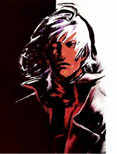 Dante Concept Devil Cry Face Dmc Capcom