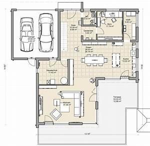 Doppelhaus Grundriss Beispiele : coller grundriss f r ein doppelhaus mit garage dazwischen ~ Lizthompson.info Haus und Dekorationen
