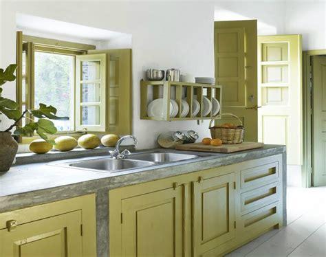 cocinas pintadas  los colores de moda  ideas