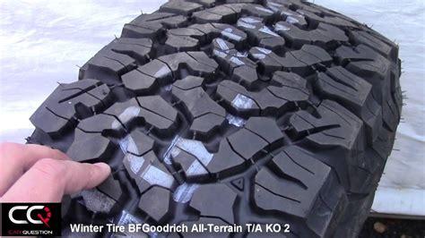 winter tire review bfgoodrich  terrain ta ko simply