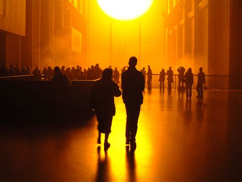 Olafur Eliasson Sun by Ambitious Installation Recreated Sun Inside Of Museum