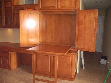 custom home office cabinets  built  desks
