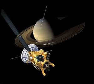 Cassini: The Grand Finale: Cassini at Saturn View 1