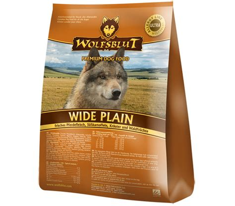 wolfsblut wide plain pferd suesskartoffel trockenfutter