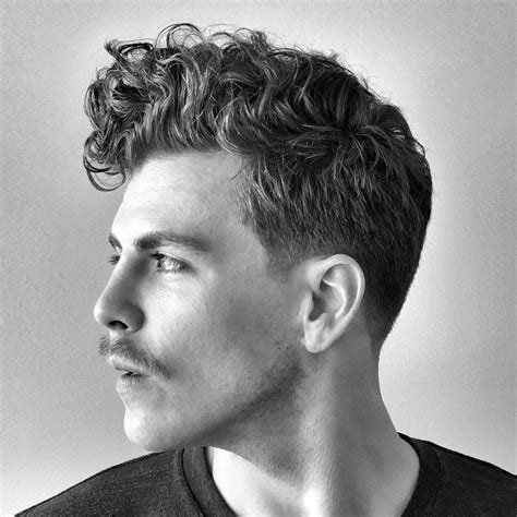 curly hair haircuts hairstyles  men  guide