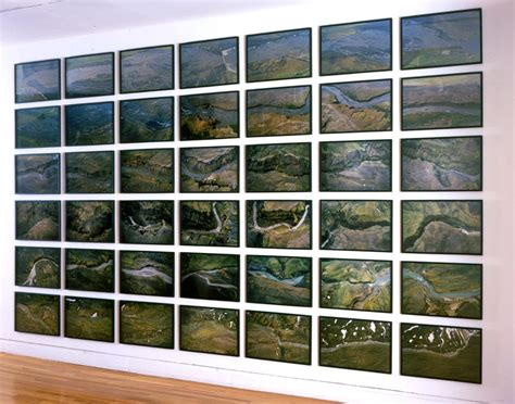 aerial river series artwork studio olafur eliasson