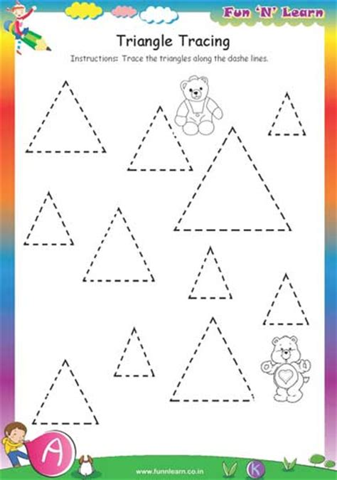 worksheets of for nursery nursery worksheets preschool activities