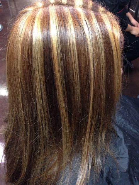 chunky highlights hair color ideas hairstylo