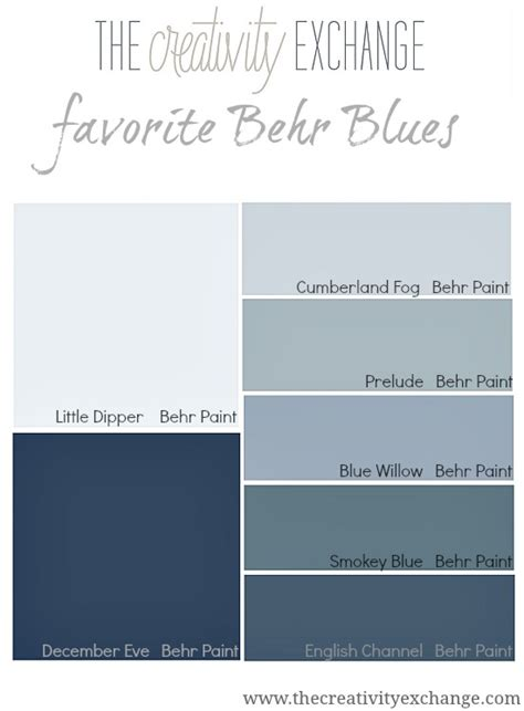 behr paint blues   favorite blues