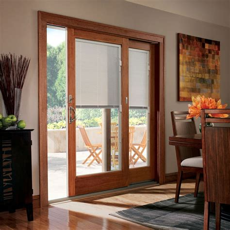 When you open and close the doors, the blinds stay neatly inside instead of flapping against the door and making noise. Blinds & Shades for Andersen Windows & Doors