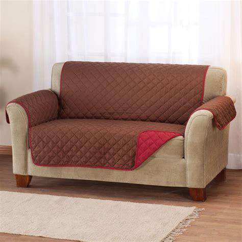 reversible microfiber sofa cover cover walter - Microfiber Sofa Cover