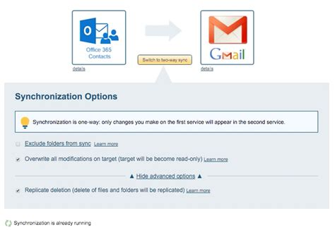 Office 365 Gmail by How To Back Up Office 365 Contacts To Gmail Cloudhq Support