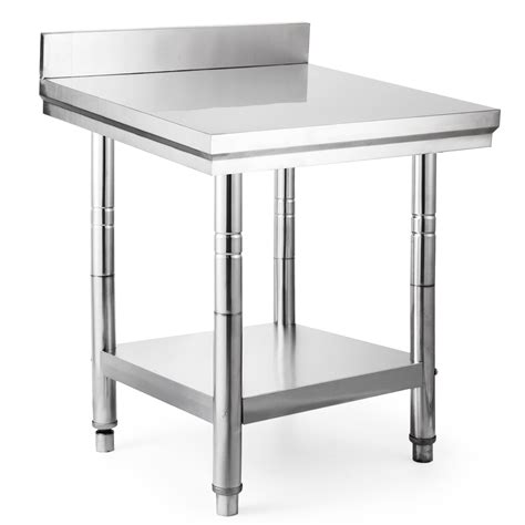 stainless steel kitchen work table commercial