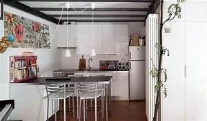Revgercom petit coin repas cuisine idee inspirante for Petite cuisine équipée avec chaises salle manger capitonnàés