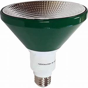 Illumin i par deco gr green led light bulb non