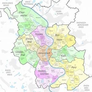 Plz Köln Nippes : liste der stadtbezirke und stadtteile k lns wikipedia ~ Orissabook.com Haus und Dekorationen