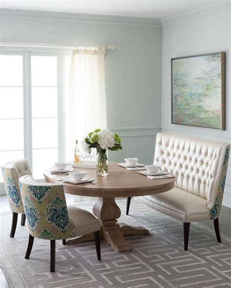 image result  horchow settee dining settee dining