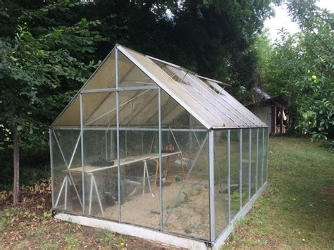 serre de jardin a vendre achetez serre aluminium occasion annonce vente 224 l 233 ognan 33 wb150565232