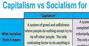 Capitalism Vs Socialism Brilliantly Explained For Dummies