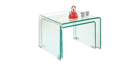 table gigogne verre vente priv 233 e num 233 ro 51 les tables basses gigognes