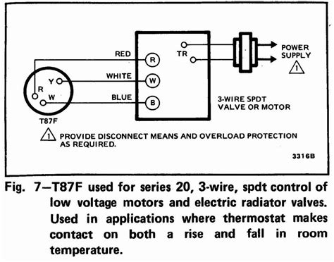 Honeywell Thermostat Wiring Diagram Wire Sample