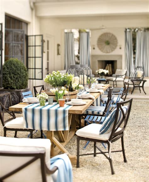 outdoor dining contemporary patio atlanta by