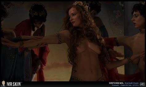 Naked Gretchen Mol In Boardwalk Empire