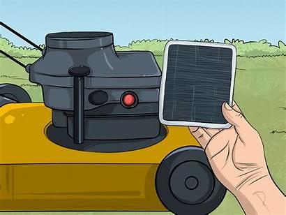 Mower Lawn Start Wikihow Step Ways