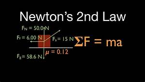 Newton U0026 39 S 2nd Law  4 Of 21  Calculate Acceleration With