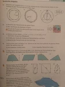Note Berechnen Formel : fl cheninhalt berechnen kreis und dreieck aufgabe 1 5 und 6 bitte mathelounge ~ Themetempest.com Abrechnung