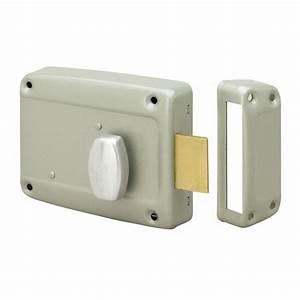 serrure de porte de garage en applique horizontale a With porte de garage sectionnelle avec cylindre serrure