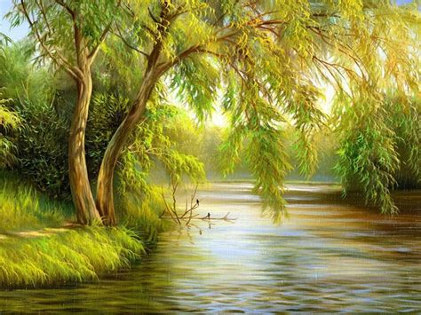 Beautiful Tree Painting From Top Artists Around The World