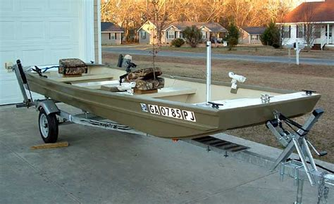 Jon Boat Transom Reinforcement by Wooden Boat Plans