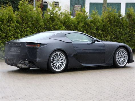 New Lexus Lfa Spy Shots