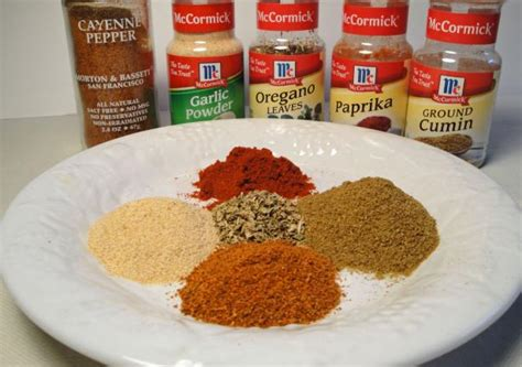 substitute for chili powder chili powder recipe food com
