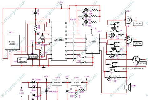 automatic room light control upon human presence zigbee based home automation system electronics