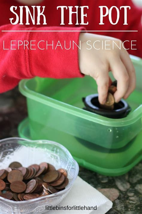 St Patricks Day Sink Float Experiment Science Activity